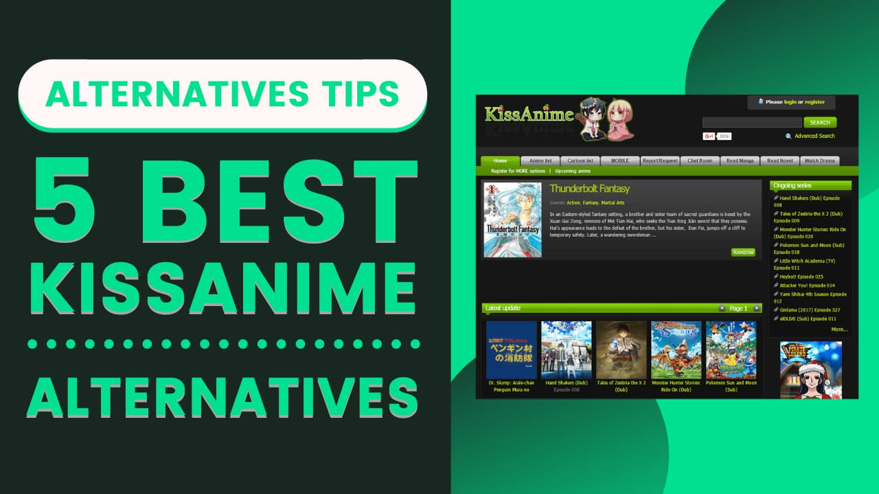Best Alternative Sites of Kissanime