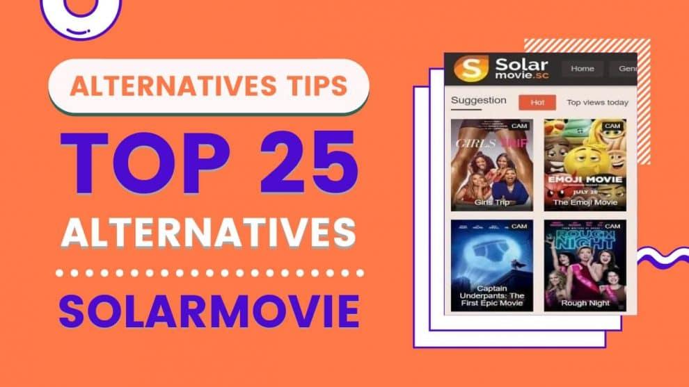 Top 25 Websites That Can Substitute SolarMovie