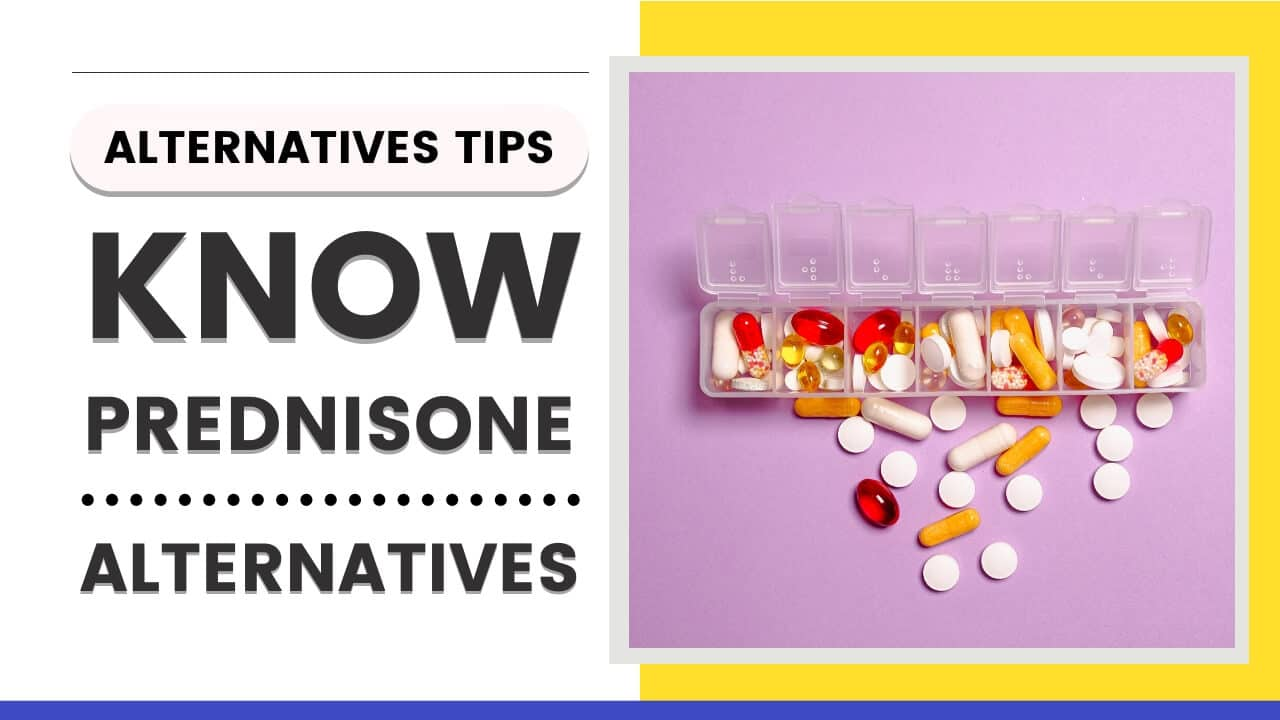 Know About Prednisone Alternative Drug