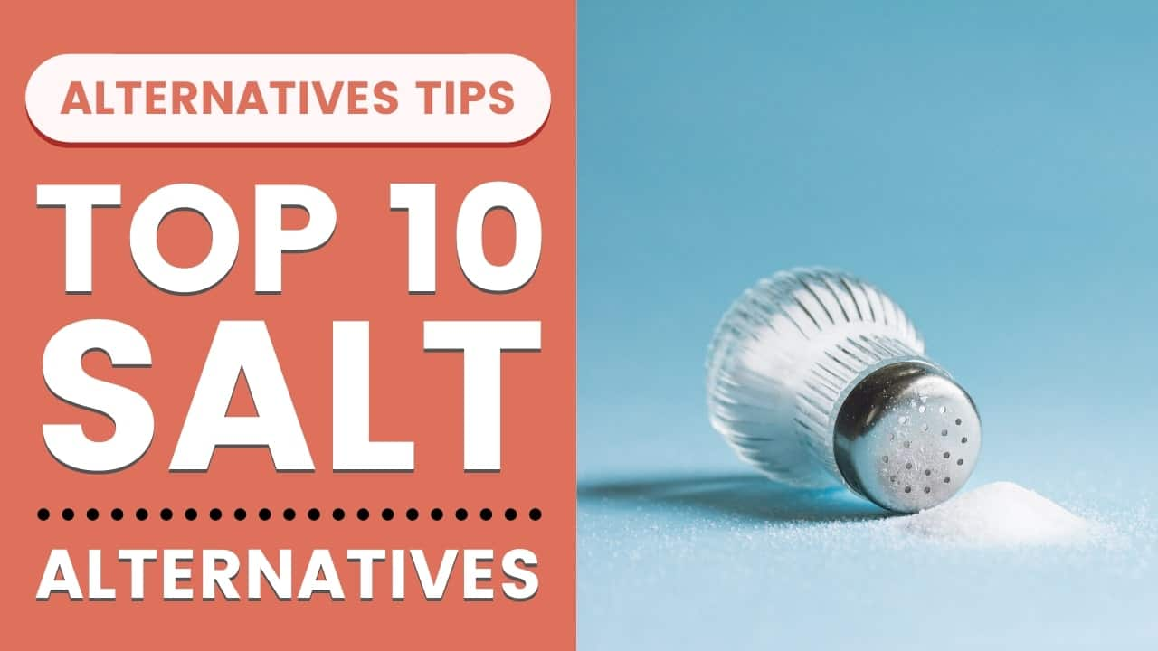List of Top 10 Salt Alternatives in 2020